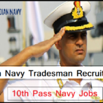 Indian Navy Tradesman Recruitment