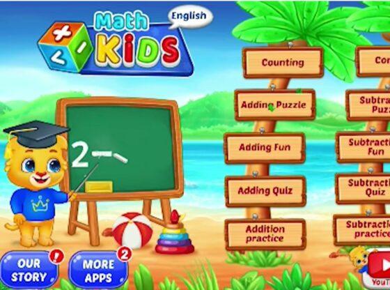 Math Kids app