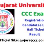 Gujarat University CCC Exam